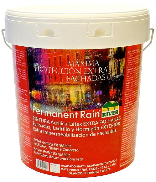 Permanent Rain EXTRA FACHADA 15 Lt. BLANCO / BASE TINTES PASTELES