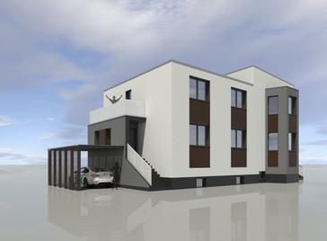 Przebudowa budynku mieszkalnego, Luboń