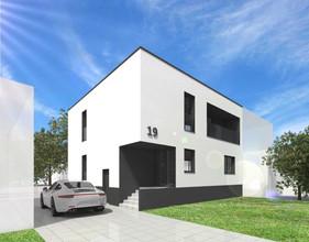 Budynek mieszkalny jednorodzinny, połówka bliźniaka, Kostrzyn Wlkp.