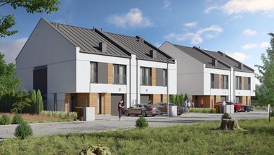 Budynki mieszkalne jednorodzinne w zabudowie bliźniaczej, Buk