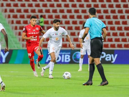 Ajman Loses To Shabab Al-Ahly Dubai