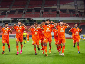 The Orange brigade's youth 21 years old team in eighth place in the general standings of the AGL U21