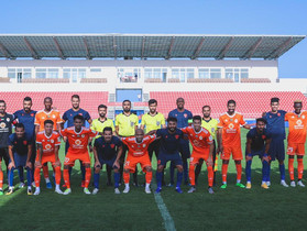 Ajman presents a great match against the Saudi Al-Fayhaa in the first friendly experience in the Ser