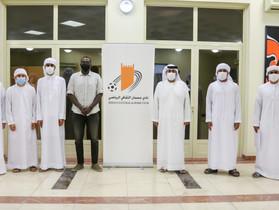 Ajman Club Board of Directors honors the creators in the media center