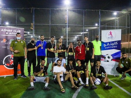 Al Joker is 1st place in Ajman Club 6 Aside football tournament