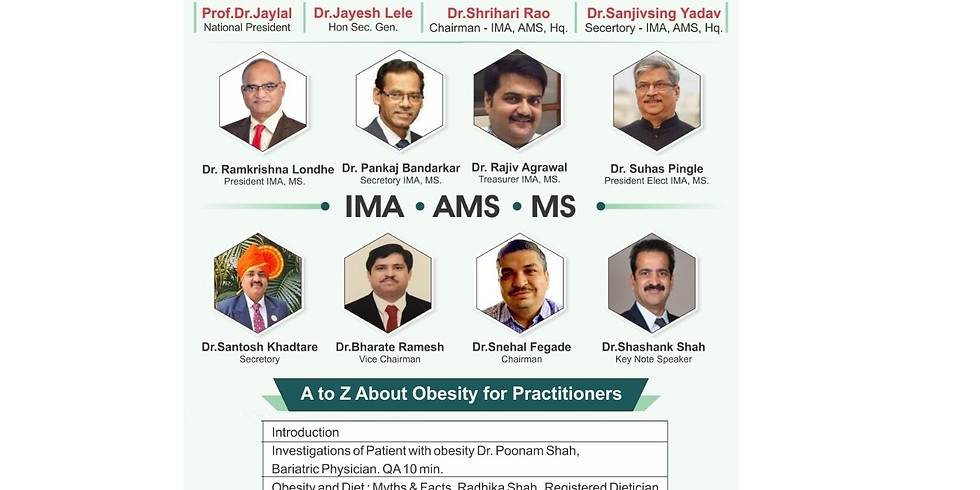 A to Z about Obesity for Practitioners