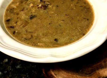 Bourdain's Mushroom Soup