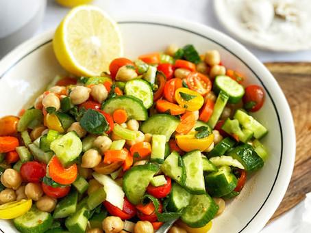 Chickpea Veggie Salad