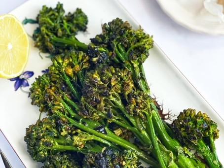 Broccolini with Lemon and Garlic