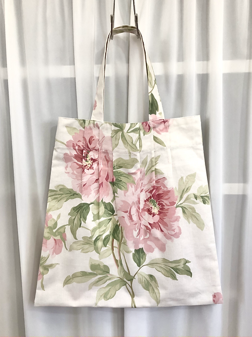 ショッピングバッグ『花柄・A』