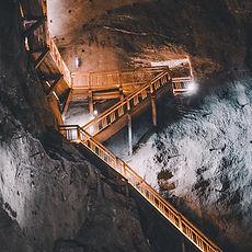 Mining Underground Stairs