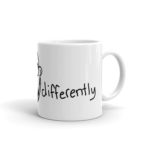 Think Differently Coffee Mug