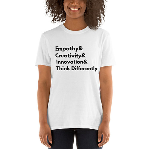 Think Differently Helvetica T-Shirt (white)