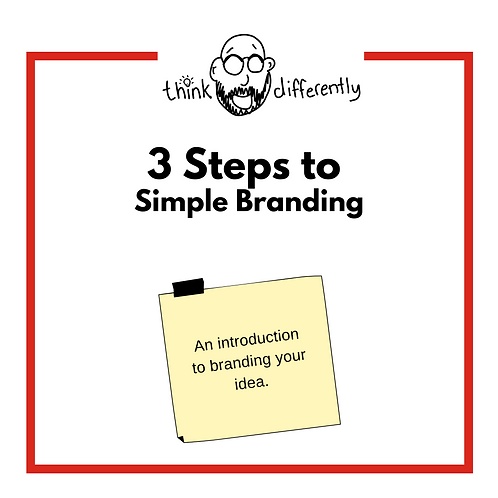 Branding in 3 Steps