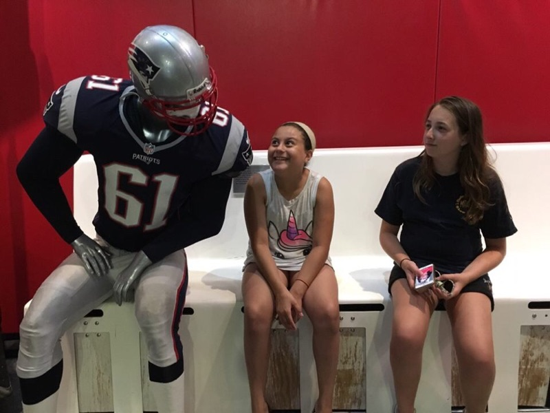 Field Trip to Patriots Place