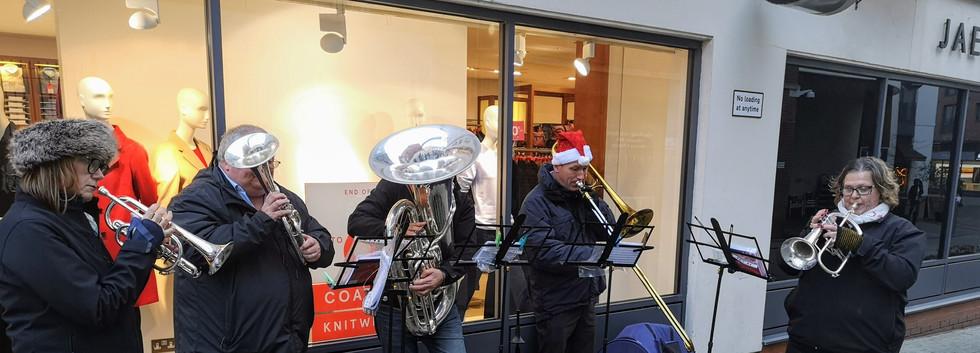 Regent Court, Leamington, Christmas 2018