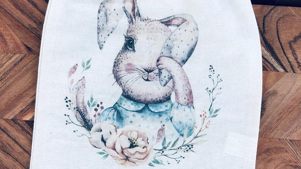 Easter Dream Big - Calico Drawstring Bag