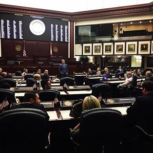 Hosting Moffitt Cancer Center in the Florida House Chamber
