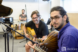 Rehearsal with Al Di Meola. July 2018