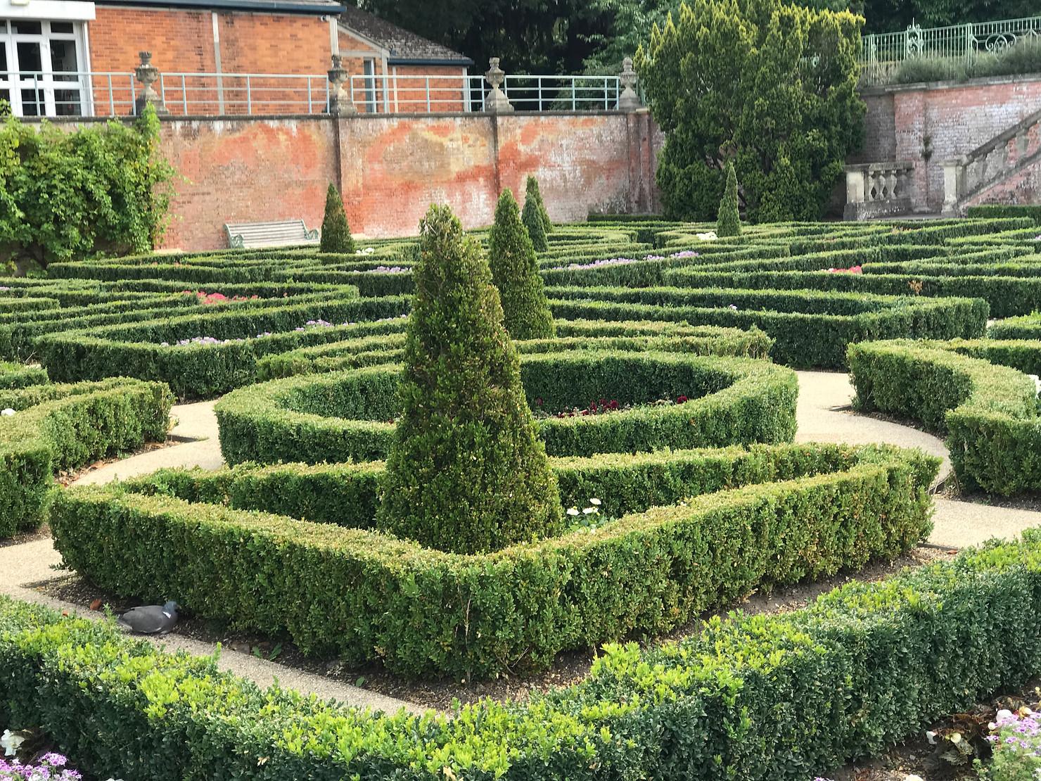 Rose Garden, South Hill Park