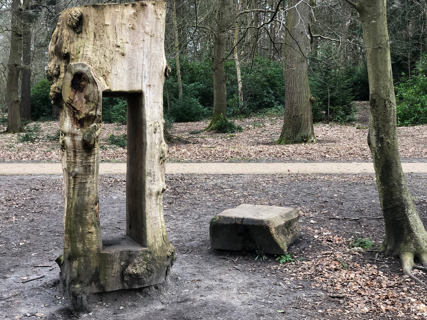 Sculpture, Lily Hill Park, Bracknell Forest