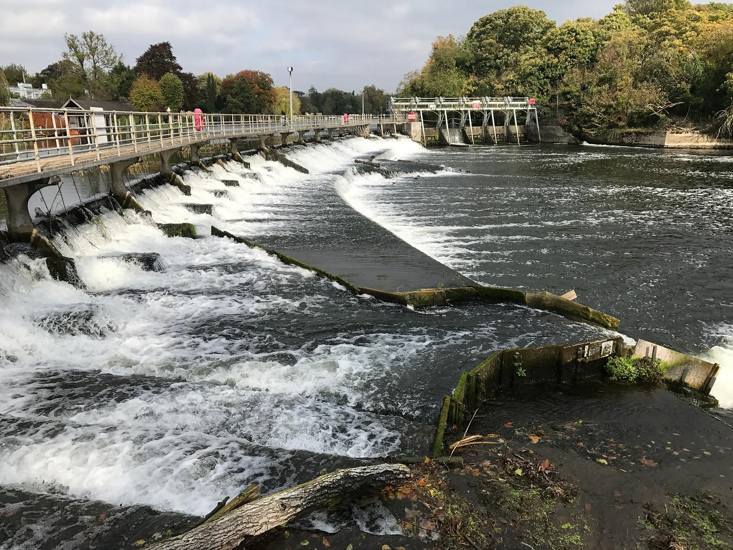 Ray Mill Island Weir