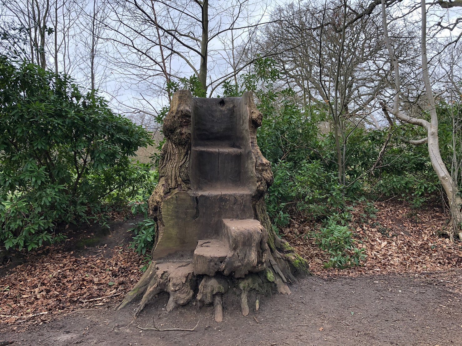Story Telling Throne, Lily Hill Park, Bracknell