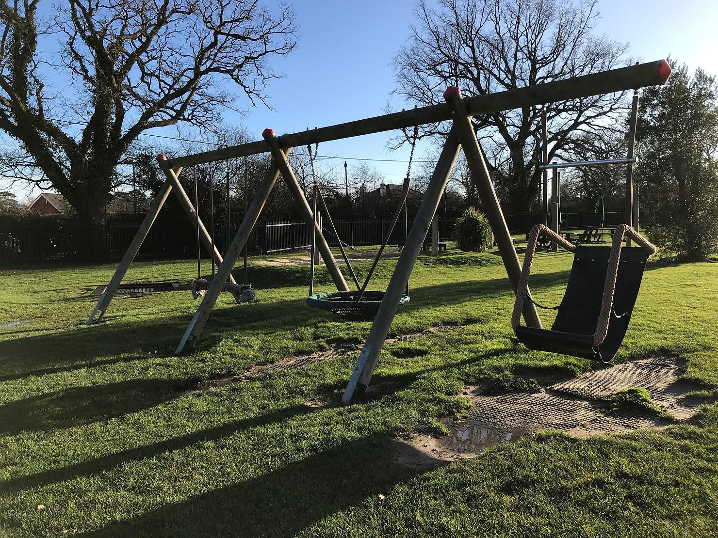 Locks Ride near Ascot Swings