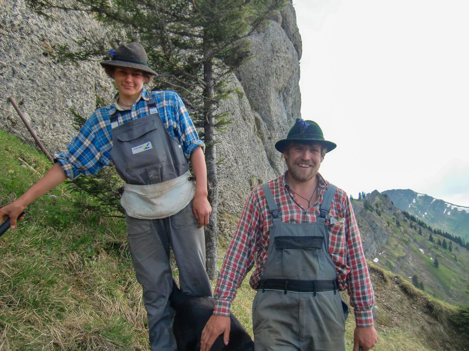 Johannes & Bäne im Sommer 2010