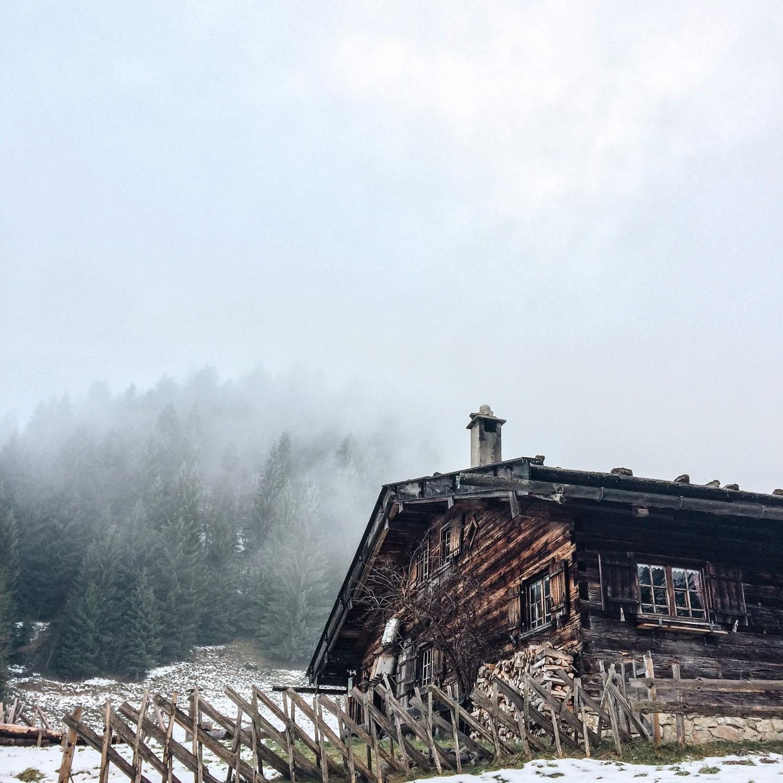 Die urige Alpe Gschwenderberg.