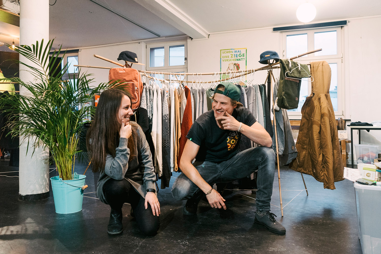 Anna & Steffen die Gründer von Allgäu goes FairFashion