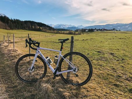 Gravelbike-Tour durch's südlichste Oberallgäu