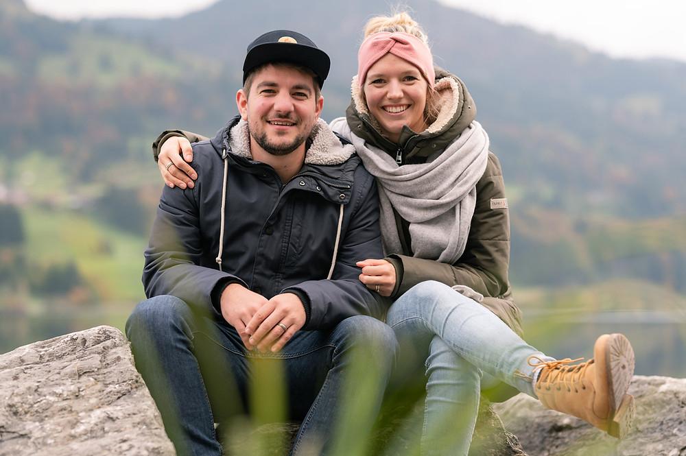 Adrian & Martina, die zwei Gründer*innen von Robin