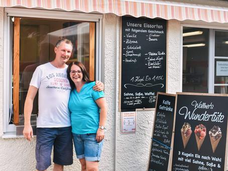 "Bei ""Eis"" rührt sich ebbas – Villa Wallner in Altusried"