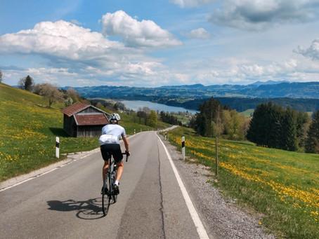 Vom Ober- ins Westallgäu mit'm Rennrad