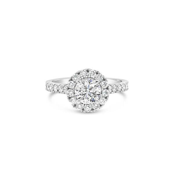 0.80ct F/SI2 Round Brilliant Cut