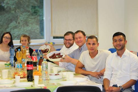 Shiur mit unserem Gast Eliezer Noy, Geschäftsführer von Morasha Germany