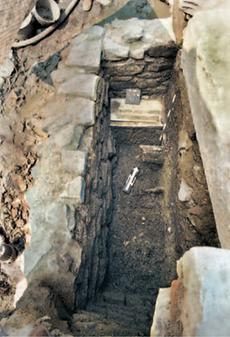 Ausgrabungen der ersten Konstanzer Mikwe aus dem 15. Jahrhundert