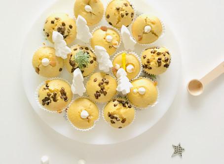 Cupcakes pour attendre Noël - sans gluten sans lactose