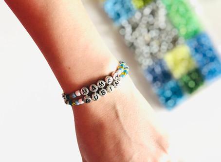 DIY minute: Des petits bracelets à message
