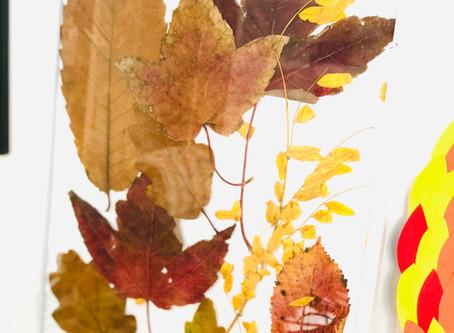 Occuper les enfants pendant ses vacances- DIY minute de l'automne