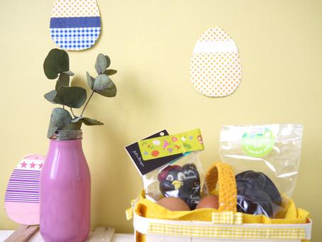 DIY de Pâques: un petit panier pour la chasse aux oeufs!