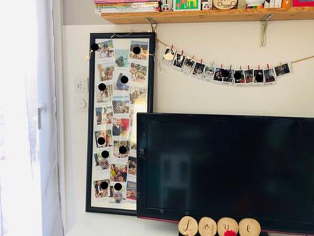 Upcycler un vieux cadre (pour y exposer vos plus belles photos!) - DIY récup