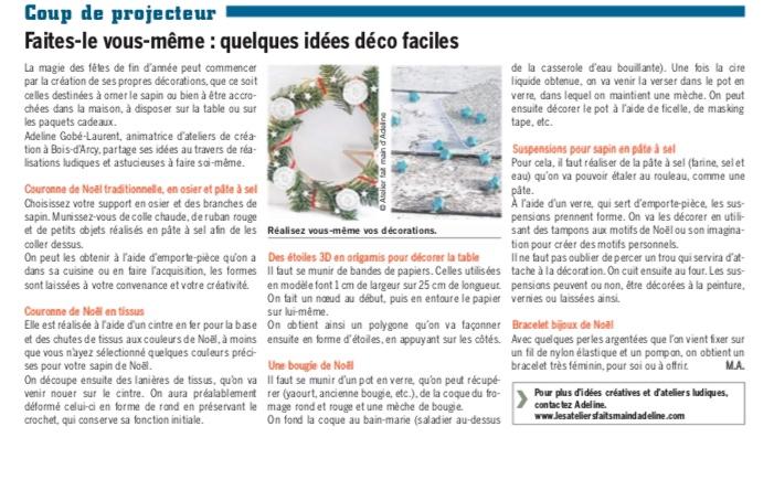 Article presse - Côté Yvelines
