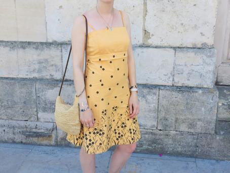 Une robe de fête estivale 100% seconde main