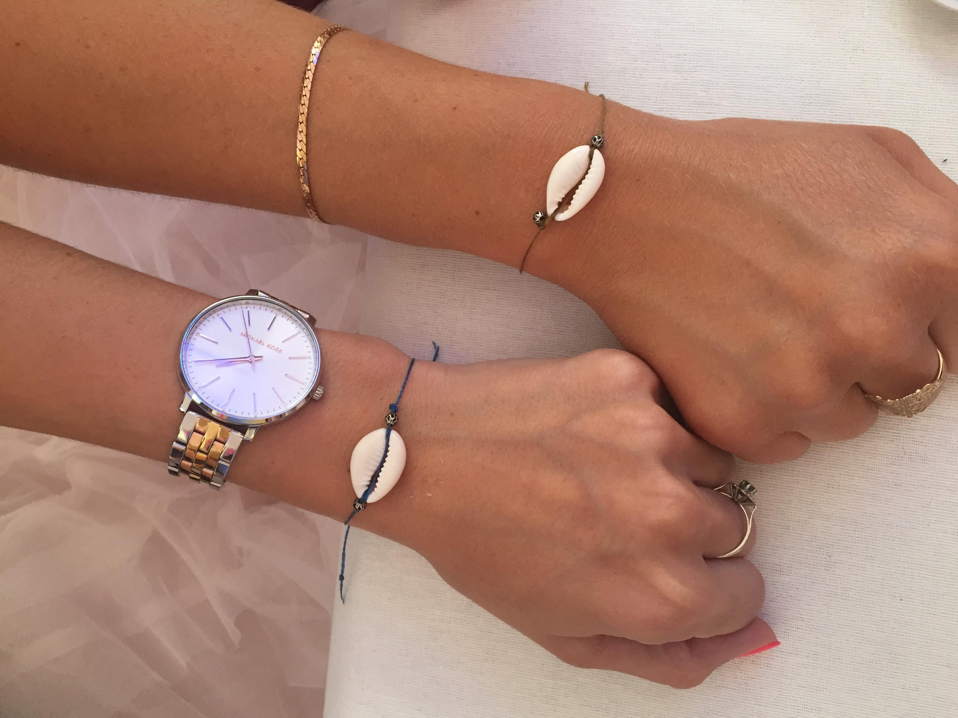 Bracelets coquillage