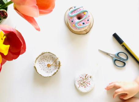 Pâte à sel pour les kids et créativité- Recette DIY Zéro déchet