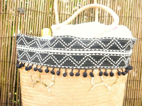 Customiser un sac de la plage - avec Graine Créative