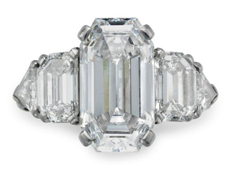 Engagement Ring Fit for a Rockefeller