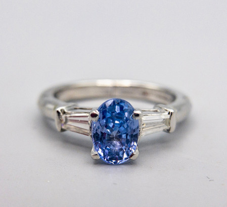 14kt Gold and Platinum Ring
